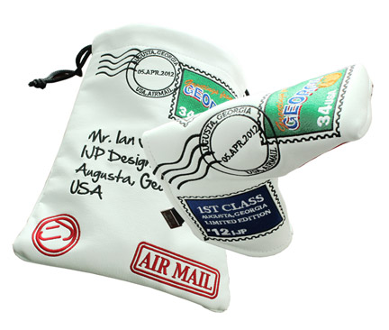 Ian Poulter's Unofficial Masters Putter Cover