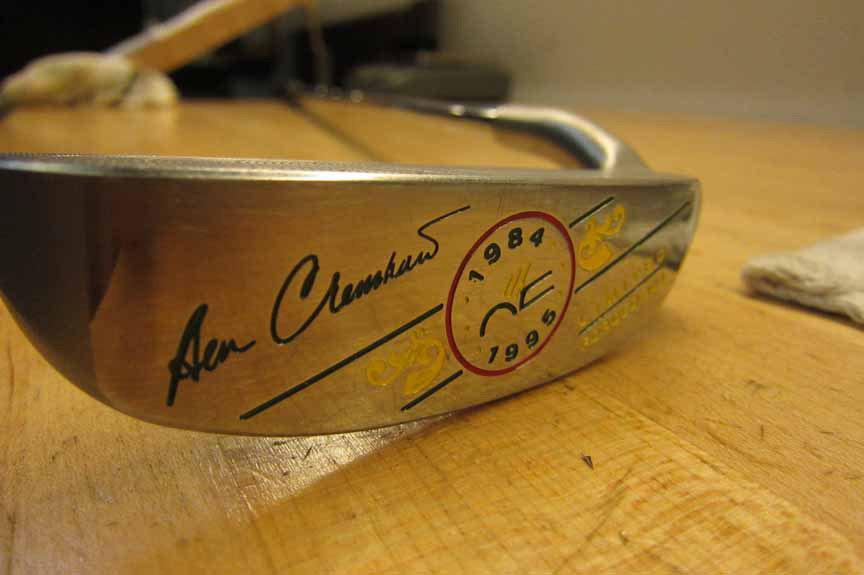 Ben Crenshaw's Sick Custom Stick