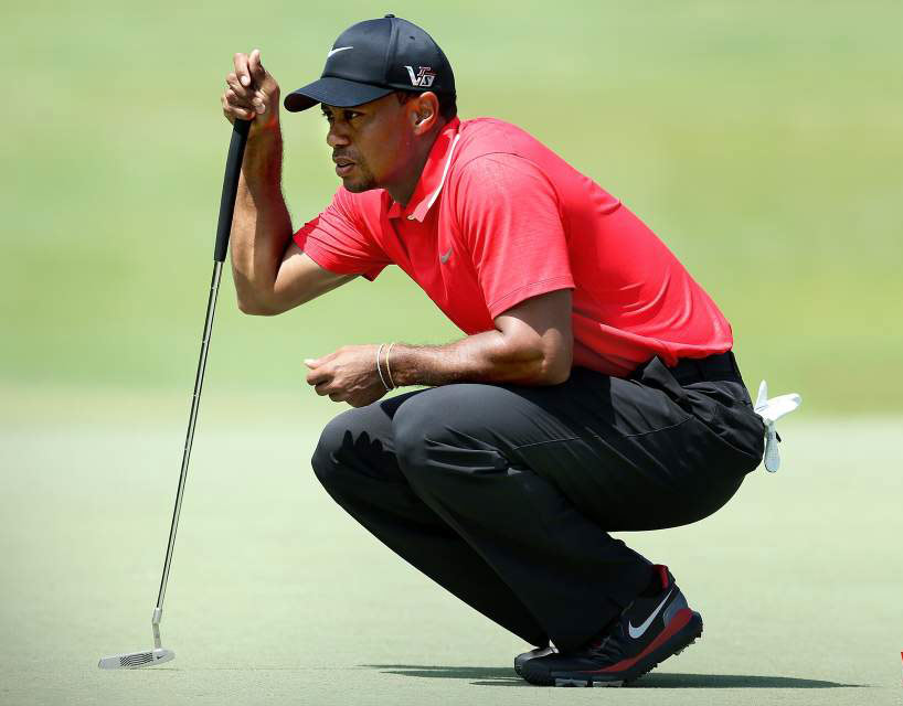 Tiger Strikes Again with Method Putter