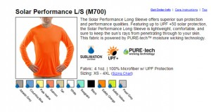 Cool Stuff: Solar Performance Golf Shirt